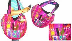 Vintage Sari Hand Bags