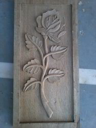Wooden Rose Carving