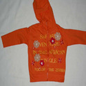Girls Cotton Knitted Hooded T-shirts