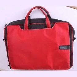 Flipper Laptop Briefcase With Colors Black & Orange
