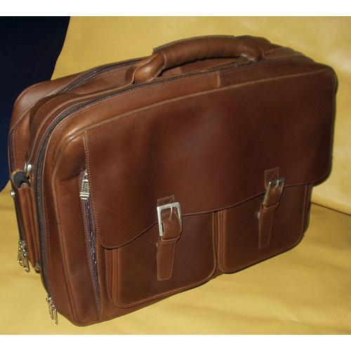 Leather Overniter Bag