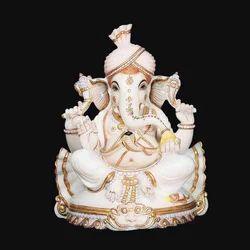 God Ganesha Marble Statue