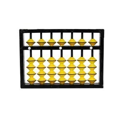 7 Rod Single Color Abacus