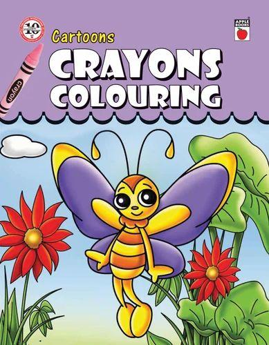 Crayons Coloring - Cartoons Books at Rs 40 /piece | Cartoon Coloring ...