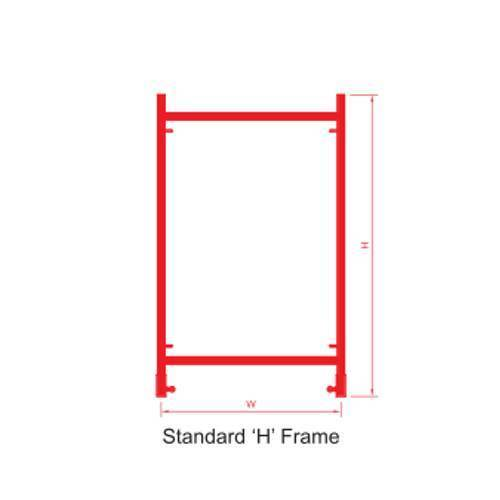 Scaffolding Standard H Frame - View Specifications & Details of ...