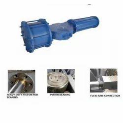 Pneumatic Rack & Pinion Actuator