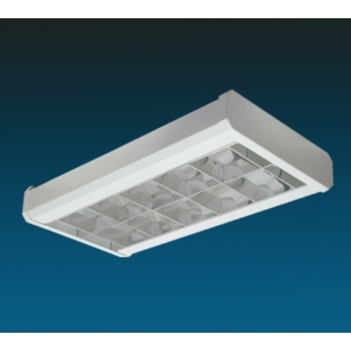 Light 2 X 36 Surface CFL DP, Light Mirror Optics