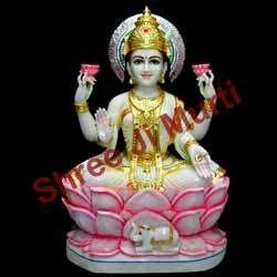 Lakshmi Statue In Jaipur Rajasthan Mahalakshmi Statue