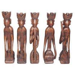 African Style Musicians Set of 5 pcs