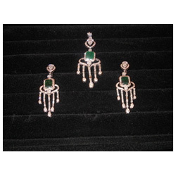 Semi precious pendants manufacturers suppliers of alpmoolya jhumke semi precious stone pendant set mozeypictures Images