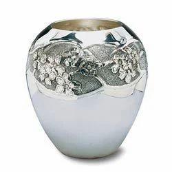 Brass Floral Vase