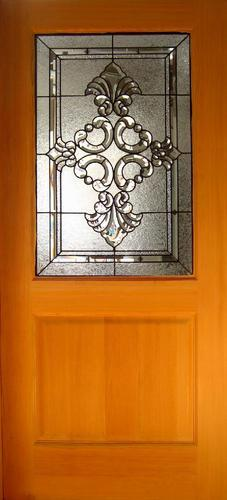 Charmant Half Glass Door