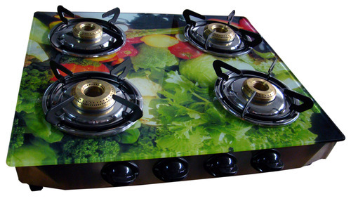 86e250f350a Glass Top 4 Burner Gas Stove-Vegetable Color - MVA Gas   Home ...