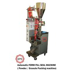 Vertical Form Seal Machines For Powder And Granules