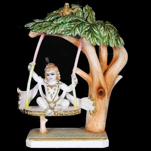 Shri Krishna Tree Sculpture