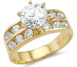 Real Diamond Wedding Ring