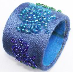Cambridge blue Napkin Ring