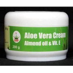 KHP White Aloe Vera Cream, For Skin Care, Type Of Packaging: Plastic Jar