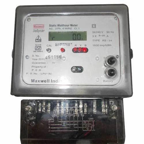 Lcd Display Meter Three Phase Multifunction Lcd