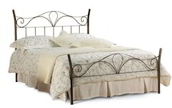 Black Iron Bed