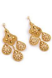 Gold Covering Earring