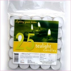 Tealight Candles 25 Pack