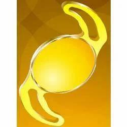 Yellow Aspheric Foldable Lens