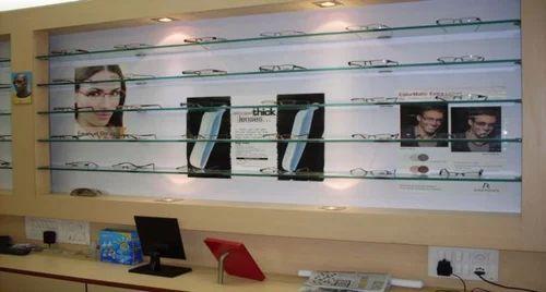 Shop Interior Designing - Spectacles Workshop Designing Service ...