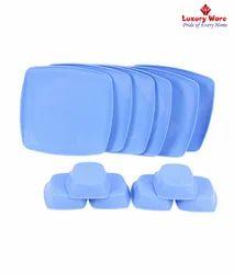 Full Square Plates / Veg Bowls