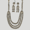 3 Strand Victorian Necklace