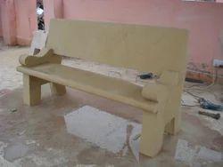 Sandstone Garden Sofa Bench
