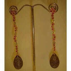 Long Designer Earrings