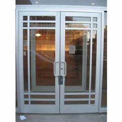 SS Glass Door Gate