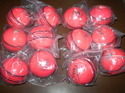 Pink Cricket Leather Ball