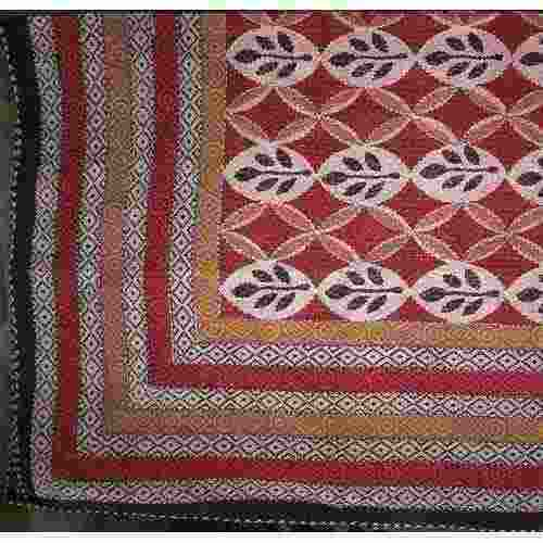 Hand Embroidered Katha Bed Cover