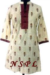 Ladies Pintuck Kurta