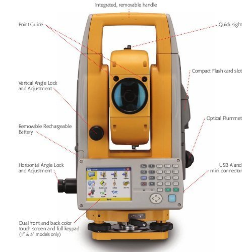 topcon total stations view specifications details of total rh indiamart com Topcon Instruction Manuals Topcon Robotic Total Station