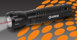 LED Flashlight With Telescopic Magnetic Pick Up