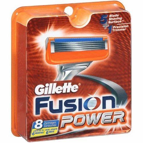 Gillette Razor Blades Gillette Fusion Power Blades