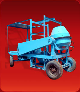 Mobil Builder Hoist with Winch Machine