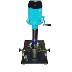 Semi Automatic Laboratory Stirrer With Vessel