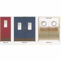 Flush Type Metal Door