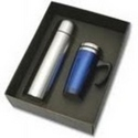 Stainless Steel Vacuum Flask and Mug