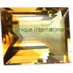 Citrine Baguettes Cut Gemstone