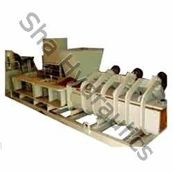 Mild Steel Sha Double Station Coir Pith Press, Capacity: Standard, Electrical