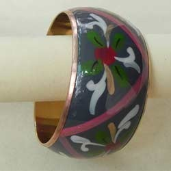 Enameled Metal Bangles