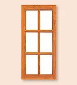 Six Panel Window