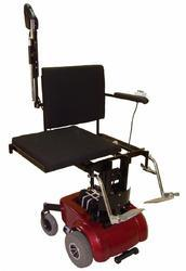 Powered Deluxe Seat Up- Down And Sliding Wheelchair