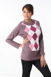 Ladies Short Sweater