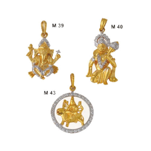 Gold Pendants Sets Gold & Gold Jewellery